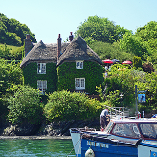 Tolverne, River Fal, Cornwall